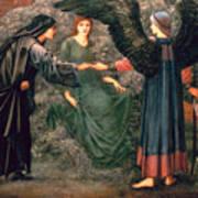 Heart Of The Rose Art Print by Sir Edward Burne-Jones