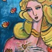 Heart Of Venus Art Print