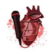 Heart Song1 Art Print