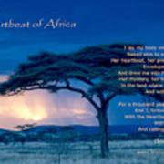 Heartbeat Of Africa Art Print