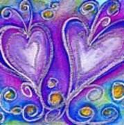 Hearts 1 Art Print