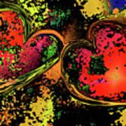 Hearts Adrift Art Print