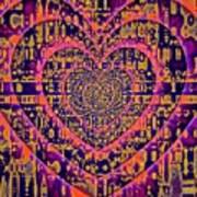 Hearts International Art Print