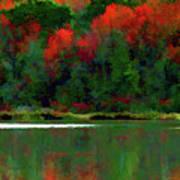 Heavy Tones Seasons Fall  Art Print