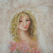 Heavenly Angel Art Print