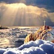 Heavenly Ascension Art Print
