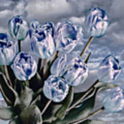 Heavenly Blue Art Print