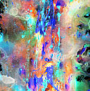 Heavenly Cosmos Series 1993.033014invert Art Print