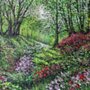 Heavenly Garden Art Print
