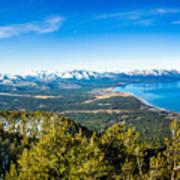 Heavenly South Lake Tahoe View 1 - Left Panel Art Print