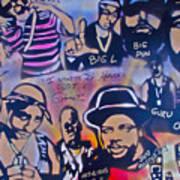 Heavens Ghetto Print by Tony B Conscious