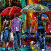 Heavy Rain Art Print