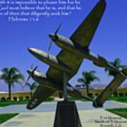Hebrews 11-6 Art Print