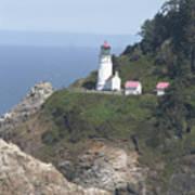 Heceta Head Lighthouse Li 9000 Art Print