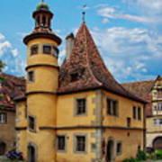 Hegereiterhaus Rothenburg Ob Der Tauber Art Print