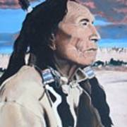 Hehaka Sapa Black Elk Art Print