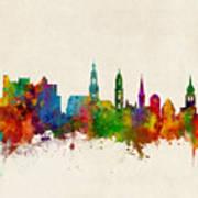 Heidelberg Germany Skyline Art Print