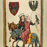 Heidelberg Lieder Art Print