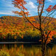 Heights Of Autumn Art Print