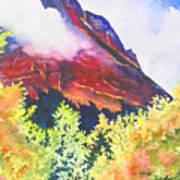 Heights Of Glacier Park Art Print