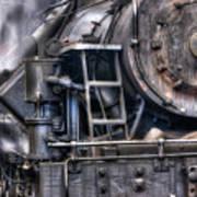 Heisler Steam Engine Art Print