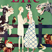 Held: Magazine Cover, 1926 Art Print