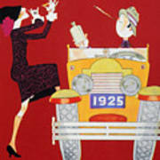 Held: Sheik & Sheba, 1925 Art Print