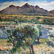 Helderberg Clearmountain Cape Town South Africa Art Print