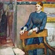 Helene Rouart Art Print by Edgar Degas