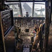 Helicopter Cockpit Art Print
