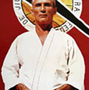Helio Gracie - Famed Brazilian Jiu-jitsu Grandmaster Art Print