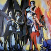 Helion: Paris Riots, 1968 Art Print