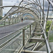 Helix Bridge Art Print