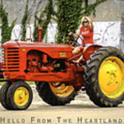 Hello From The Heartland Art Print