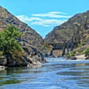 Hells Canyon Dam  Art Print