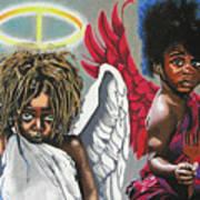 Hells Little Angels Art Print