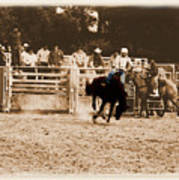 Helluva Rodeo-the Ride 2 Art Print