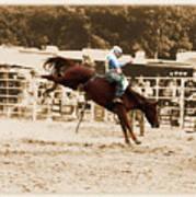 Helluva Rodeo-the Ride 4 Art Print