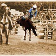Helluva Rodeo-the Ride 5 Art Print