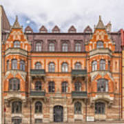 Helsingborg Building Facade Art Print