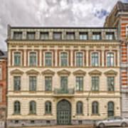 Helsingborg Building Frontage Art Print