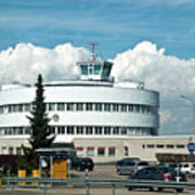 Helsinki - Malmi Airport Building Art Print