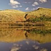 Helvellyn Mountain Reflections Art Print