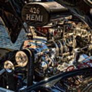 Hemi Engine Art Print