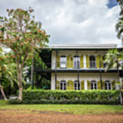 Hemingway House, Key West, Florida Art Print
