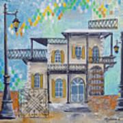 Hemingway Houses Art Print
