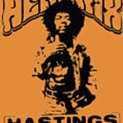Hendrix 1967 Art Print
