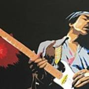 Hendrix 4 Art Print