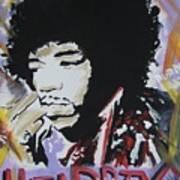 Hendrix Thoughts Art Print