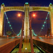 Hennepin Avenue Bridge Minneapolis Art Print